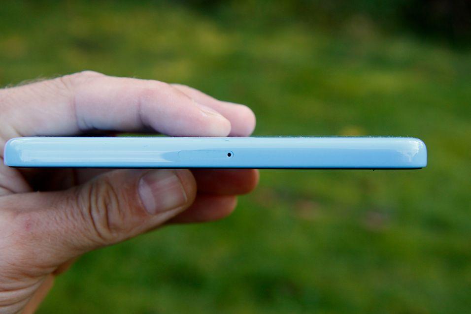 Dagens iPhone 5C (og 5S) har en skjerm på bare 4 tommer.