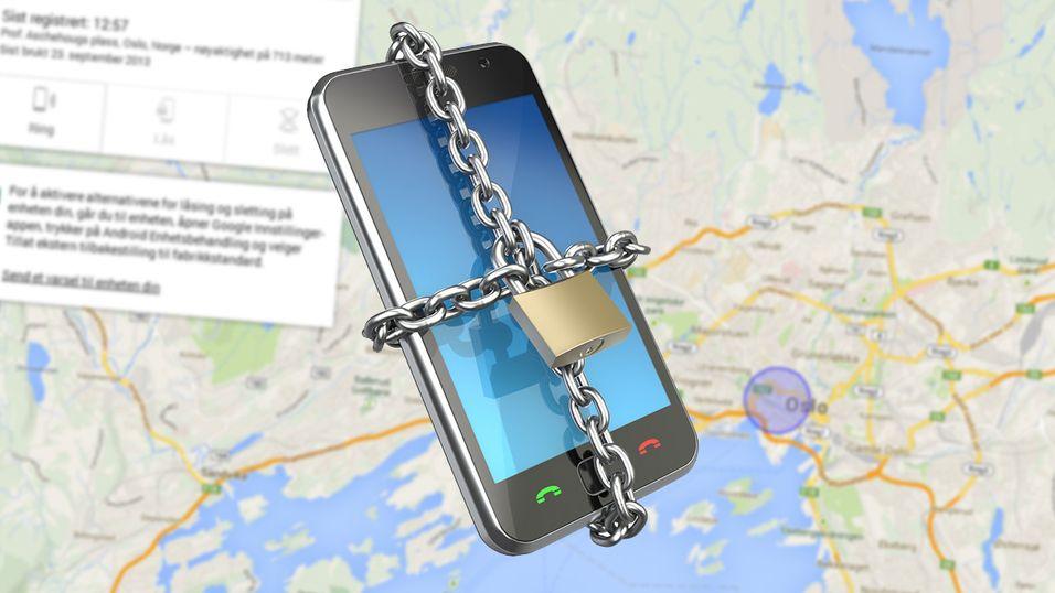 Nå kan du fjernlåse Android-telefonen din