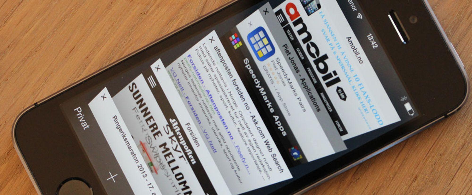 27796e39d TEST: Apple iPhone 5S - Teknologi og funksjoner