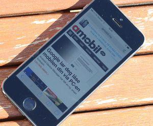 Få mobiltelefoner, om noen, er lettere å lese i sollys.