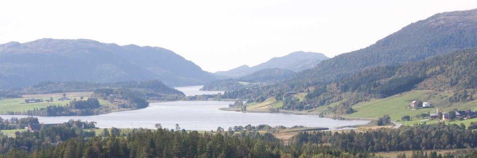 Hvem skal betale dersom noen får en plikt til å levere basisbredbånd og telefoni til de mindre tett bebygde områdene av Norge? Bildet er fra Nærøy i Ytre Namdalen i Nord-Trøndelag.