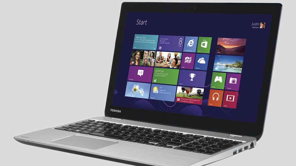 Toshiba Satellite U50t.