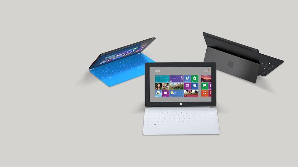 Microsoft på vei med Surface Mini