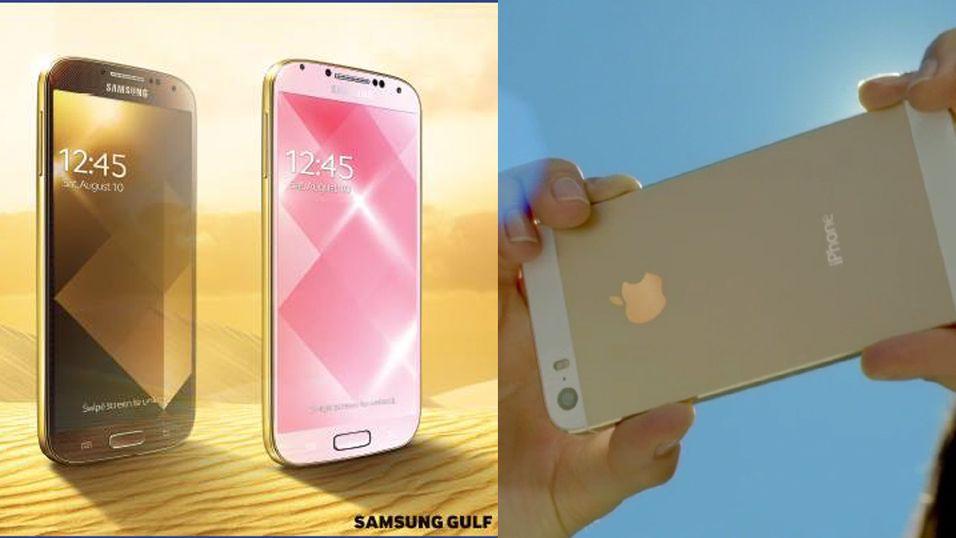 Samsung lanserer gyllen Galaxy S4
