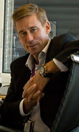 Administrerende direktør August Baumann i NetCom.