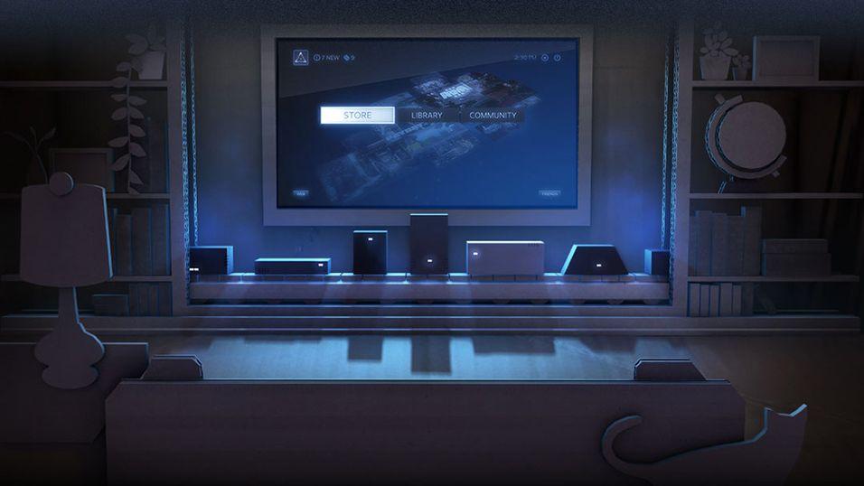 Valve satser på spesiallagde stue-PC-er