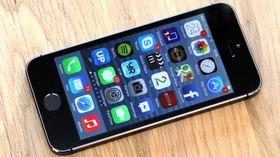 iPhone 5SE blir en kraftig oppgradert utgave av iPhone 5S, her avbildet.