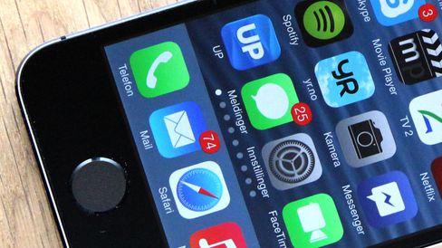 iPhone 5S nærmer seg budsjettet, om telefonen absolutt må være iOS-basert. Men vi ville brukt litt mer penger på en nyere modell.