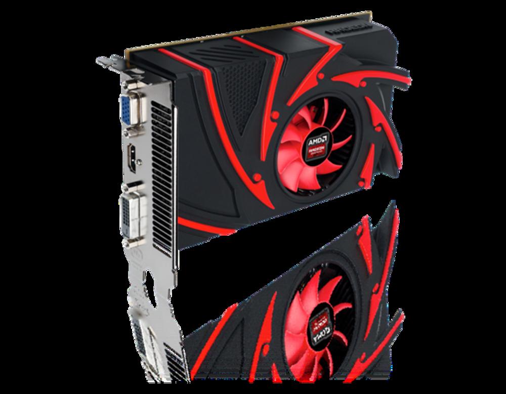 AMD Radeon R7 250 blir det aller billigste kortet i den nye familien.