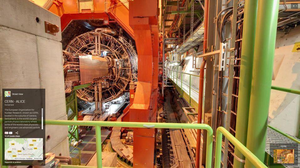 Google Street View ankommer CERN