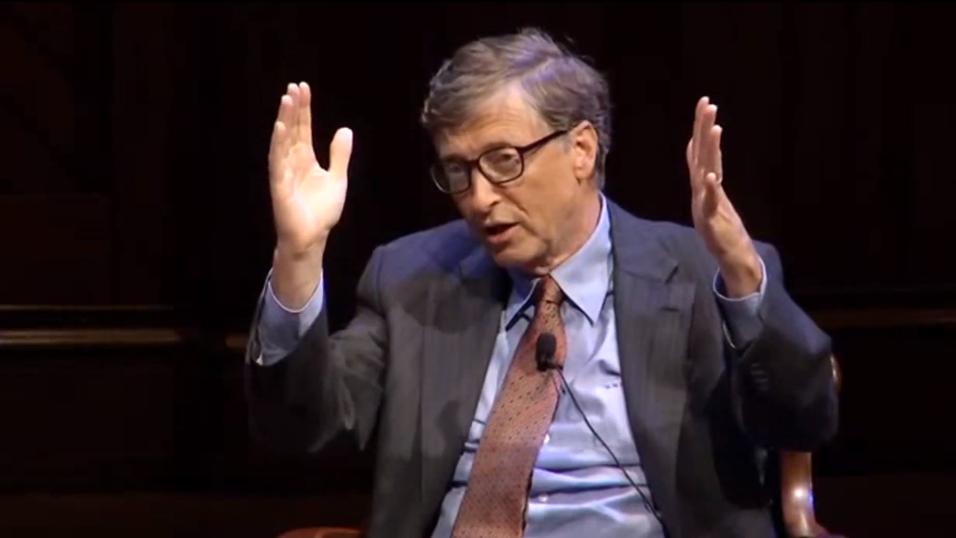 Bill Gates mener at ctrl-alt-delete var en feil.