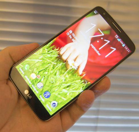Skjermen i LG G2 er i absolutt toppklasse. Den er av den litt sjeldne typen som gir inntrykk av at bildet nesten flyter oppå glasset.