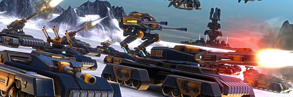 Futuristisk strategispill inspirert av Dune II