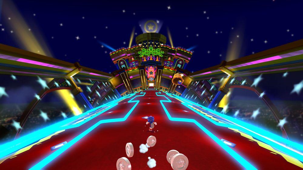 Intet Sonic-spill uten et casino-nivå.