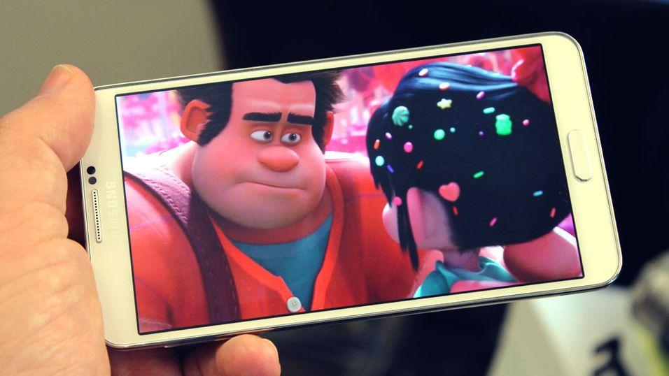 – Samsung jukser med ytelsestesten på Galaxy Note 3