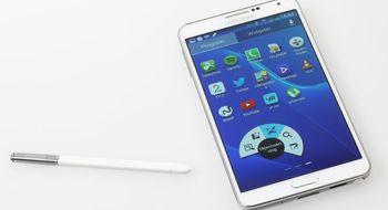 Samsung Galaxy Note 3 selger så det griner
