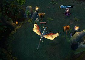Dragon er en ekstra tøff ikke-kontrollerbar fiende som gir ekstra mye gull og erfaringspoeng.