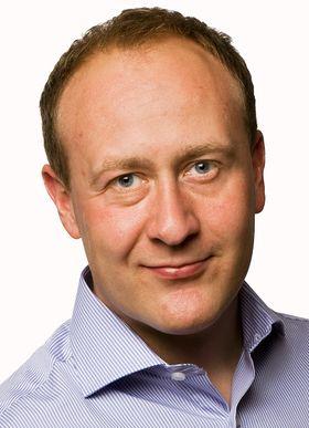 Ikke på pallen: Øyvind Vederhus, kommunikasjonsdirektør i NetCom.