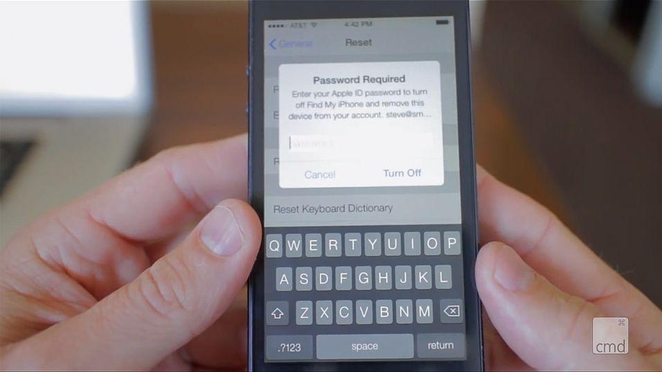 iOS 7-funksjon kan gjøre iPhonen ubrukelig