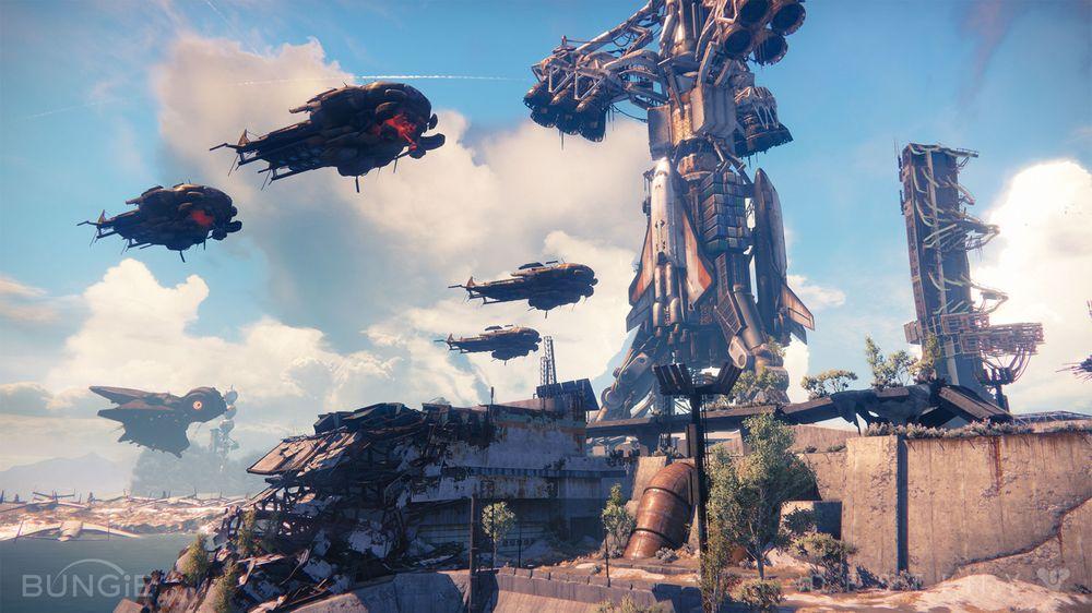 Romfart er helt innafor i Destiny.