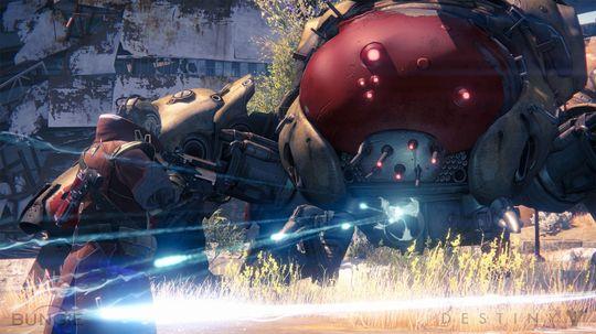 En av Destinys sjefskamper. (Bilde: Activision).