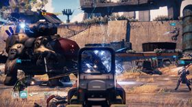 Solide mengder action i Destiny.