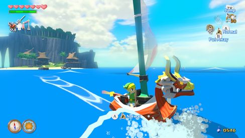 The Legend of Zelda: Wind Waker HD. (Bilde: Nintendo).