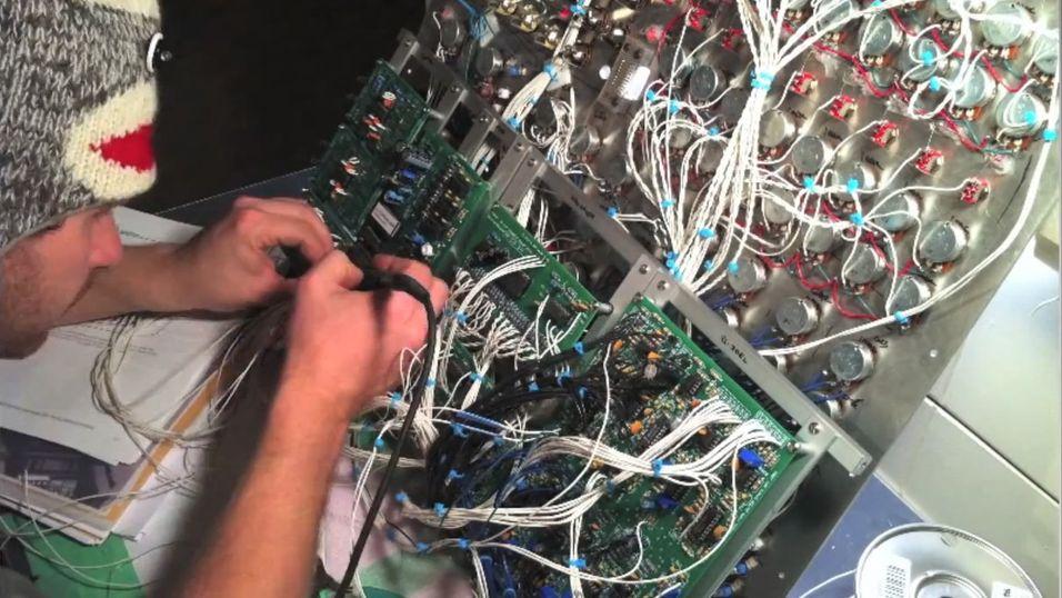 Så avansert er det å lage en synthesizer