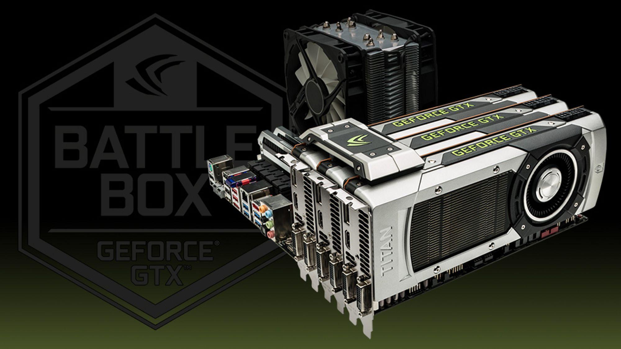 Nå skal Nvidia sertifisere de røffeste spillmaskinene