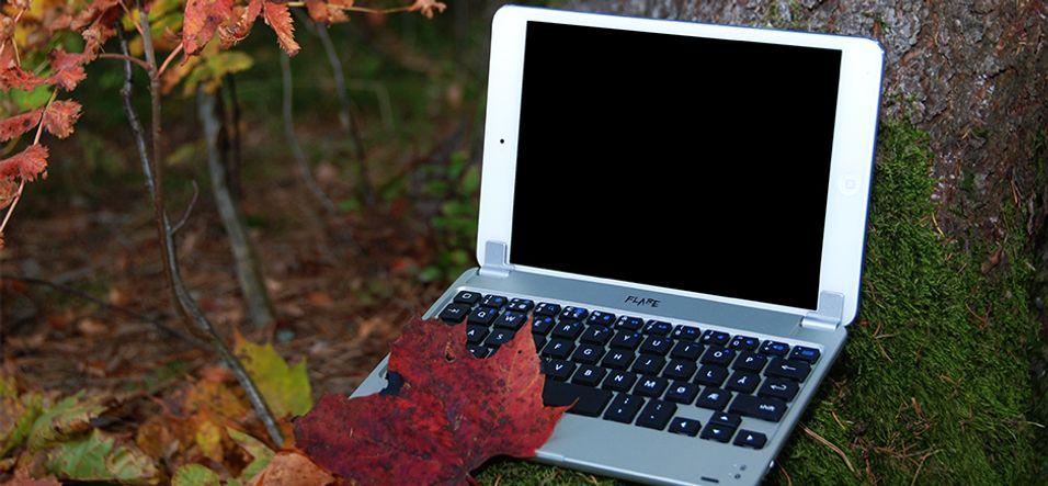 DAGENS DINGS: Denne gjør iPad-en om til en bærbar PC