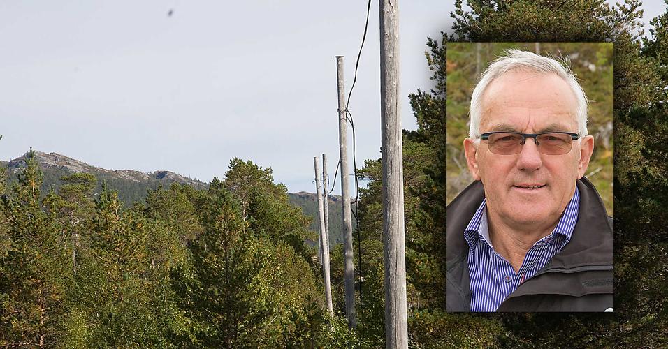 NTEs Guttorm Haugan forteller at det kreves langvarig innsats fra ildsjeler og finansiering fra flere kilder for å få fiber til bygdene.