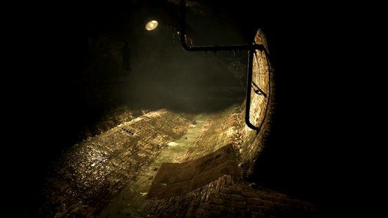Det skjer aldri noe skummelt i kloakken.