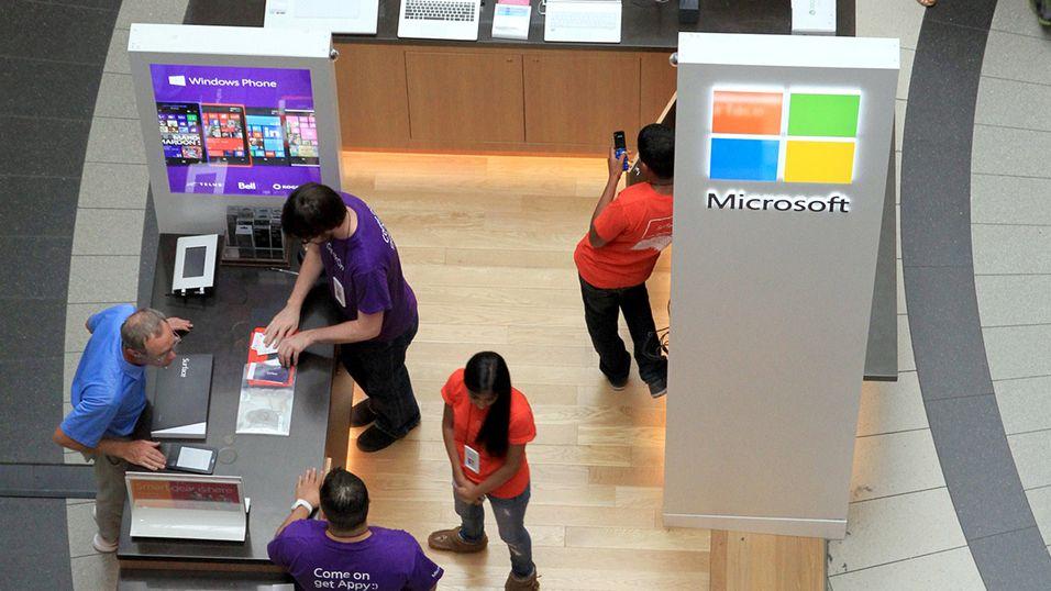 Microsoft er det mest inspirerende selskapet