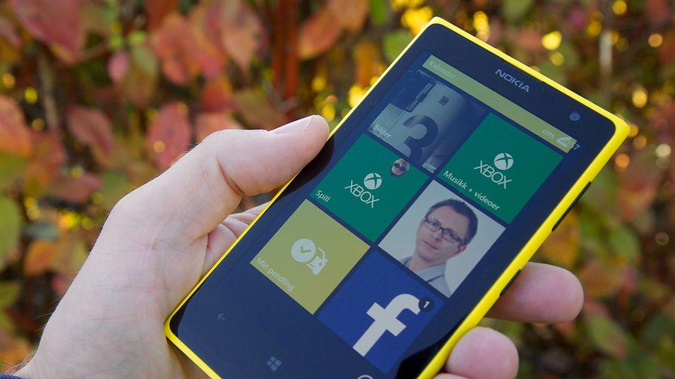 Førjulssalget blir avgjørende for Nokias toppmodell Lumia 1020.