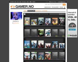 Hver leser får en egen profilside, som viser blant annet spillsamlingen, ønskelister og leseranmeldelsene.