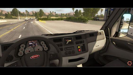 Et par bilder fra American Truck Simulator.