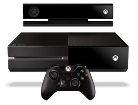 Kinect, konsoll og kontroller.