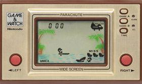 Parachute på Pica-Pic.