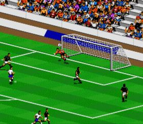 SNES-utgaven av FIFA International Soccer.