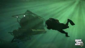 Og under vann.