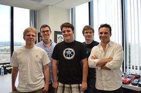 Carmack med nye kolleger.