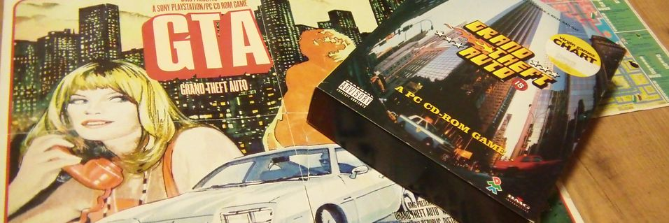 TILBAKEBLIKK: Tilbakeblikk: Grand Theft Auto
