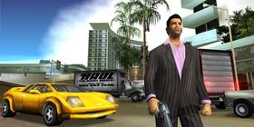Tommy Vercetti i Grand Theft Auto: Vice City.