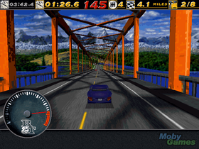 Skjermbilde fra originale The Need for Speed. (Kilde: Mobygames.com)