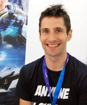 Dean «Rocket Hall under Gamescom 2012 (Foto: Audun Rodem, Gamer.no).