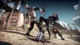 Skjermbilde fra Mad Max-spillet.
