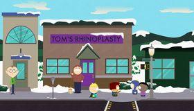 Kjente og kjære South Park-omgivelser.
