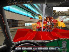 Skjermbilde fra Carmageddon. (Kilde: Mobygames.com)