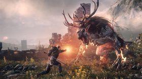 Rudolf er rød på nesen etter at Geralt har gjort sitt.