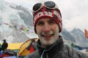 Dean Hall i Himalaya.